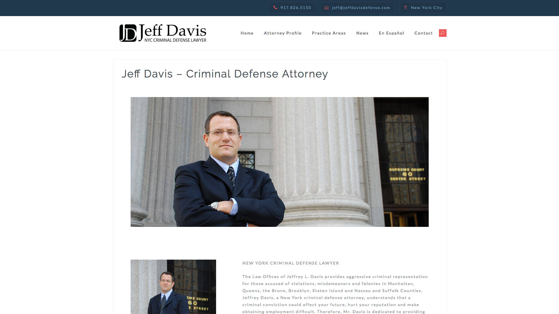 Jeff Davis - jeffdavisdefense.com